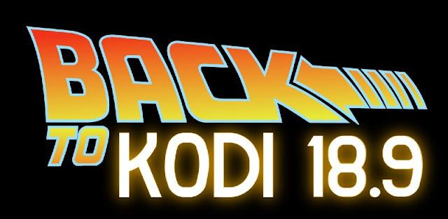 Instalar una versión anterior de KODI