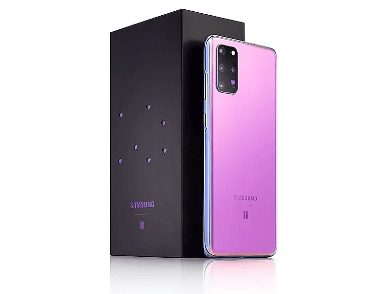 Box with purple hearts