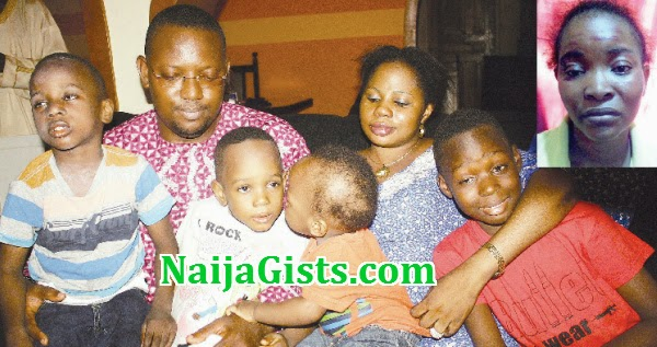 nanny kidnapped kids lagos
