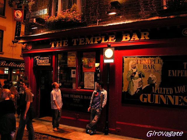 Temple Bar Trad fest Dublino