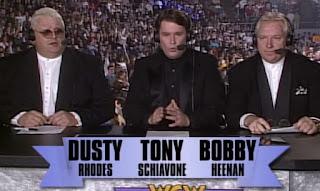 WCW Starrcade 1996 Review - Dusty Rhodes, Tony Schiavone, Bobby 'The Brain' Heenan