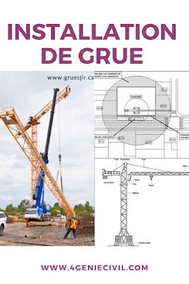 installation de grue de chantier pdf