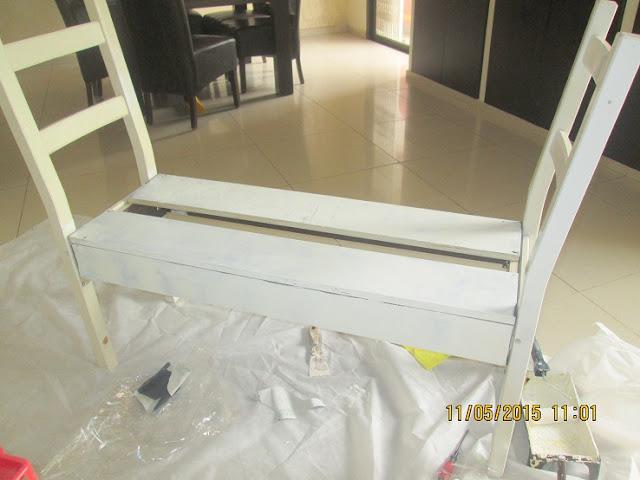 IMG 0381 - בניית ספסל משני כיסאות
