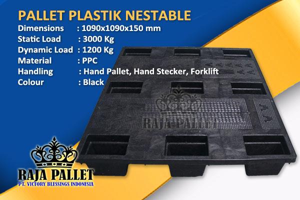 pallet plastik nestable