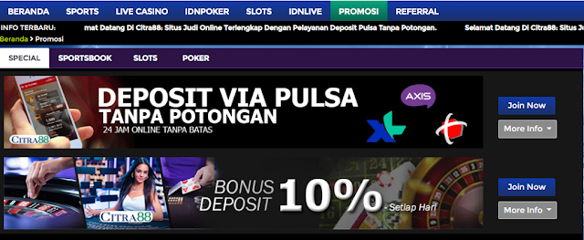 Situs Slot Deposit Pulsa Tanpa Potongan Proses Tercepat