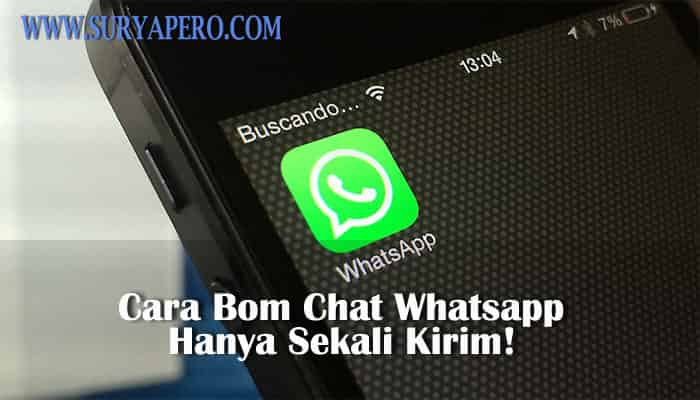 cara spam chat whatsapp