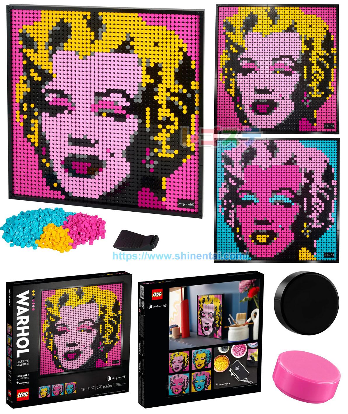 31197 アンディ・ウォーホル:マリリン・モンロー:Andy Warhol's Marilyn Monroed
