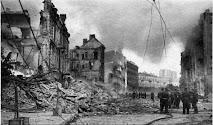 Разрушенный Крещатик Киев Великая Отечественная война фото