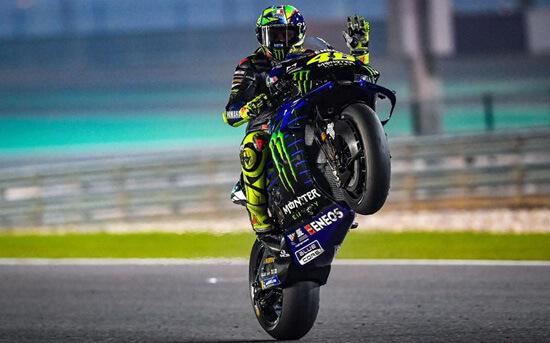 Vaelntino Rossi Mundur dari Balapan MotoGP