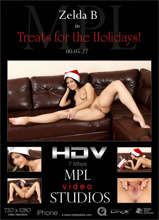 MPLStudios 2014-12-25 Zelda B - Treats for the Holiday! (HD Video) 12070