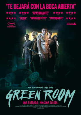Green Room -  pelicula Jeremy Saulnier - poster