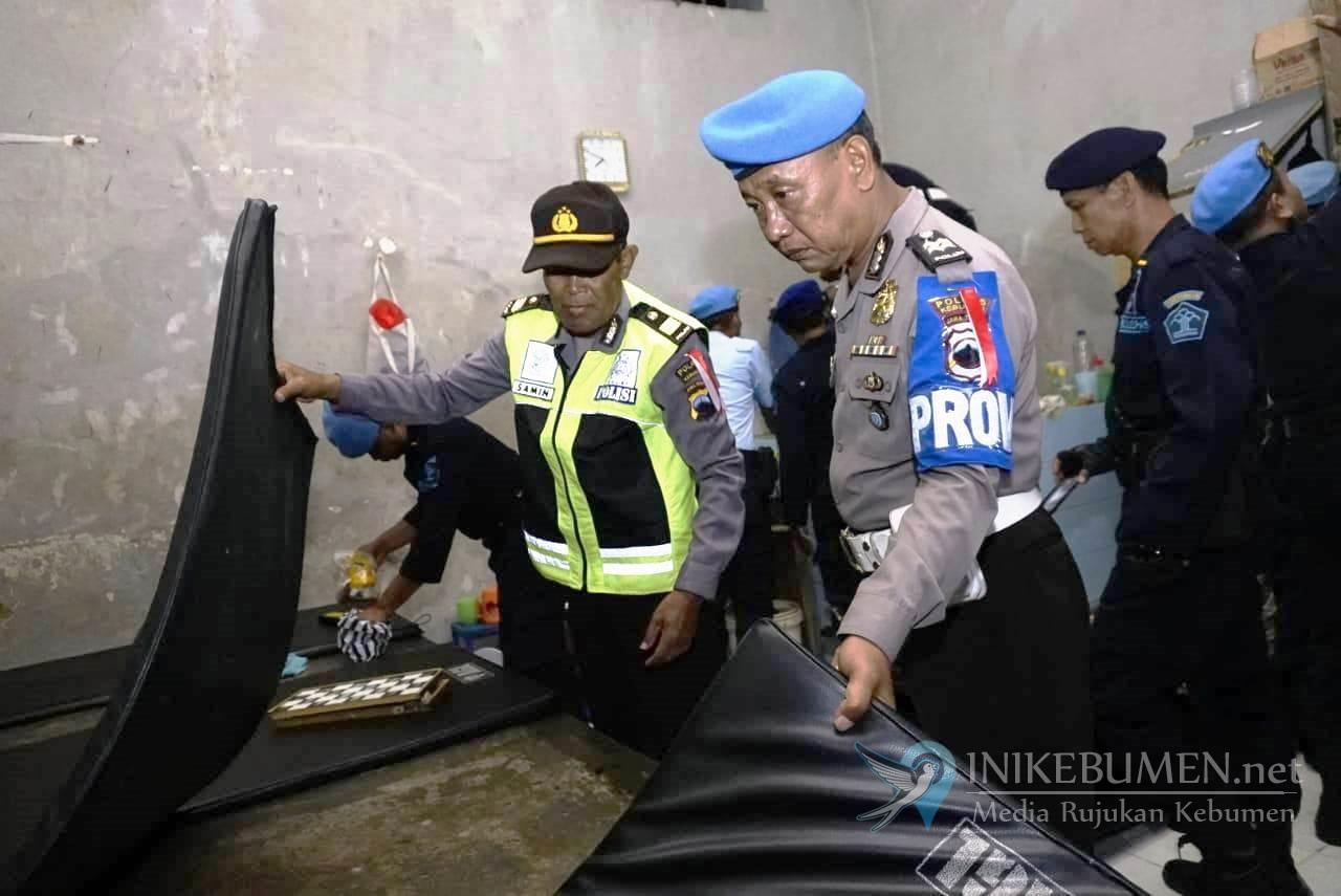 Selama 1,5 Jam, Rutan Kebumen Digeledah Polisi