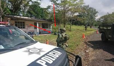 Hallan 6 bolsas con restos humanos en carretera San Andrés Tuxtla-Santiago Tuxtla