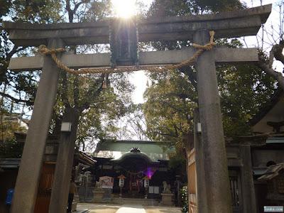 八坂神社鳥居