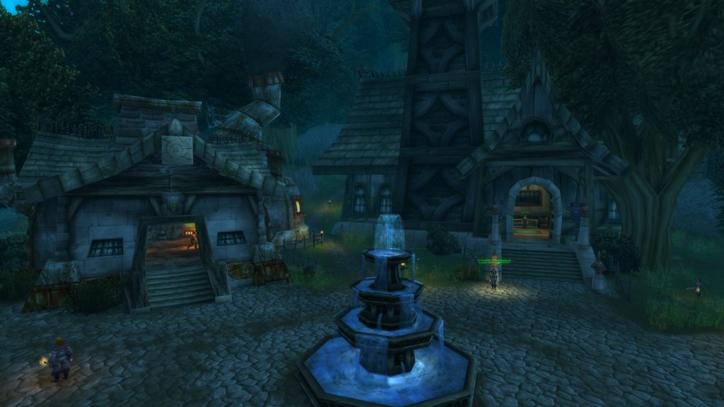 Gloamwood is a lovely and rewarding area for the Alliance.