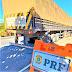 SEABRA-BA: PRF APREENDE VEÍCULO DE CARGA TRANSPORTANDO 58 T DE MILHO SEM NOTA FISCAL COM ADULTERAÇÃO NO DIESEL UTILIZADO