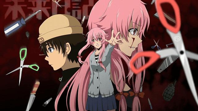 Yuno sangat mencintai yuki hingga rela melakukan apapun demi cintanya