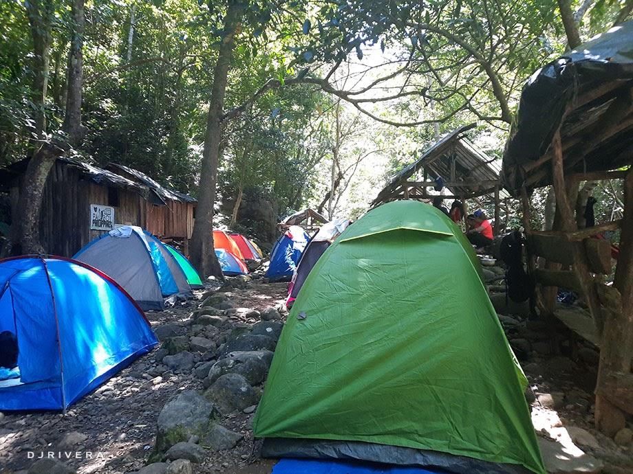 Mt. Romelo's campsite