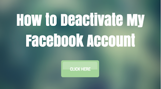 How to Deactivate My Facebook Account   Deactivating FB Profile