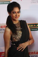 Sindhu looks fabulous in Black Saree designer choli at Mirchi Music Awards South 2017 ~  Exclusive Celebrities Galleries 013.JPG