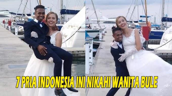 7 Pria Indonesia Ini Nikahi Wanita Bule, Intip Kisah Romantisnya