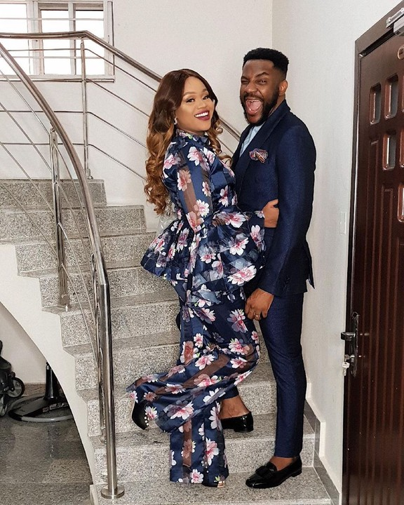Ebuka Obi-Uchendu & Wife, Cynthia Celebrate 4th Wedding Anniversary