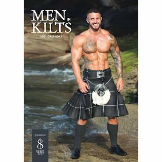 men in kilts calendar
