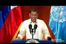 Inilah Pidato Presiden Filipina, Rodrigo Roa Duterte Saat Berbicara di Debat Umum PBB ke 75