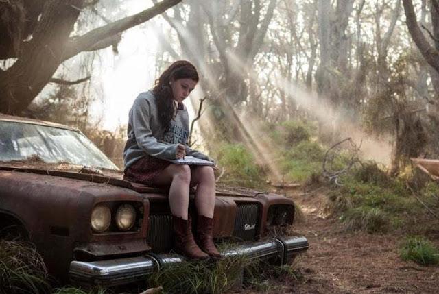 Evil Dead - Mia (Jane Levy) on Sam Raimi's 1973 Oldsmobile Delta (From the original Evil Dead)