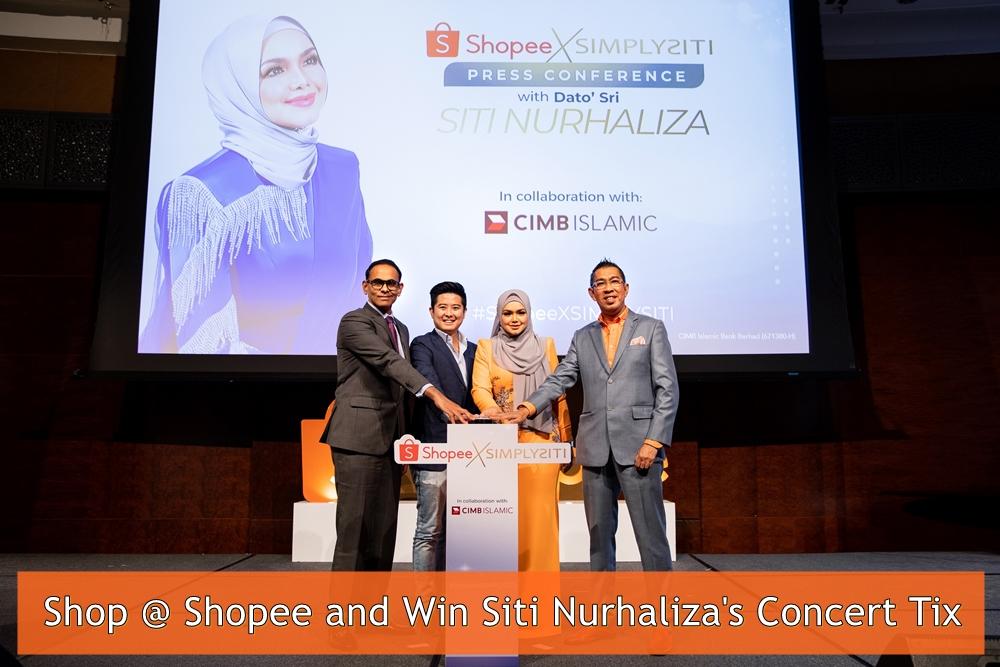 Siti Nurhaliza, Shopee, SimplySiti Super Brand Day, Shopee X SimplySiti Mini Concert, SimplySiti, ShopeeXSimplySiti, Rawlins Shops, Konsert Mini Siti Nurhaliza, Rawlins GLAM