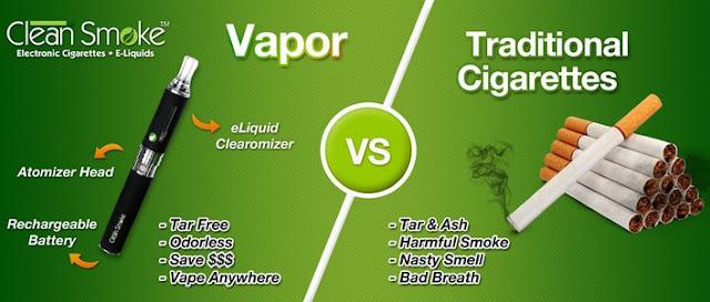 10 Perbedaan Vapor (rokok elektrik) dan Rokok