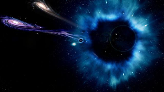 buraco negro maior do que galáxia