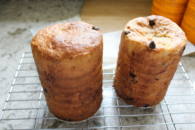 Food Lust People Love: The traditional Russian kulich is baked in multiplies for family gatherings to celebrate Easter and is often eaten on Easter Monday as picnic fare. It's a lovely sweet bread with either raisins or chocolate chips.