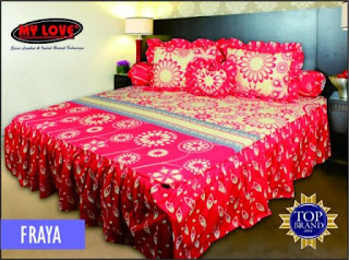 sprei rumbai my love fraya