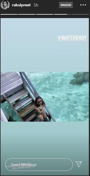 Maldives Beauty: Rakulpreet Singh latest photo holidaying in the Maldives will offer you major travel goals