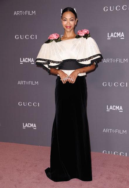 Zoe Saldan LACMA Art + Film Gala