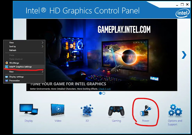 Display Blink When Plug and Unplug Charger Power Cord on Windows 10