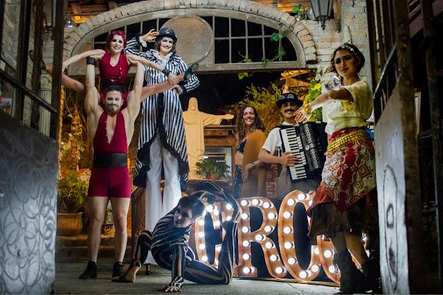 Artistas de Humor e Circo para impactar e entreter o público do seu evento corporativo.