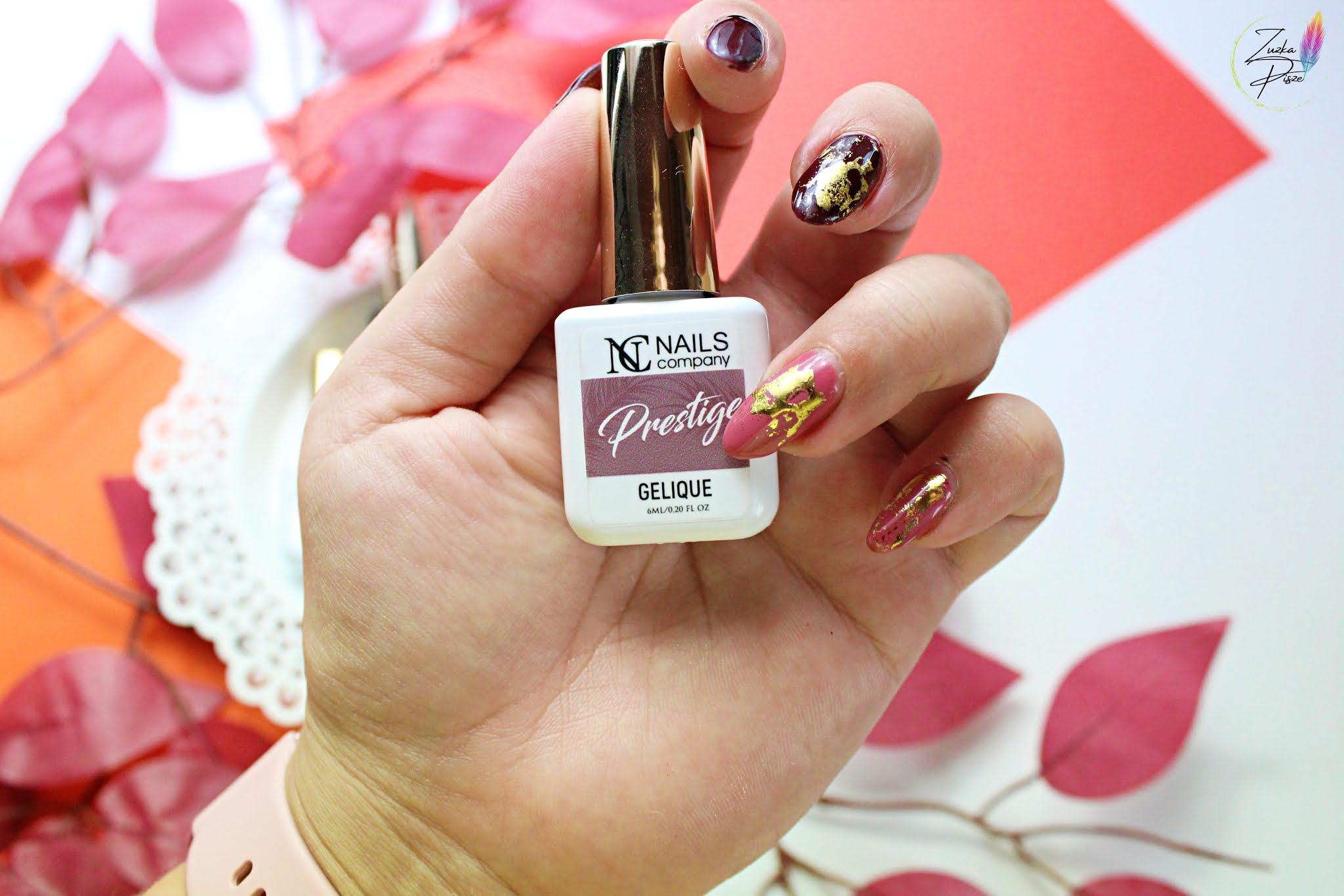 Jesienne stylizacje paznokci lakierami NC Nails Company