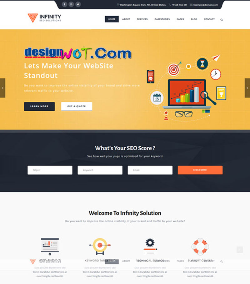 Infinity - High Performance WordPress SEO Theme