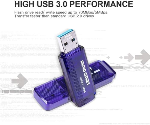 Review INLAND SuperSpeed 5 Pack 64GB USB 3.0 Flash Drive