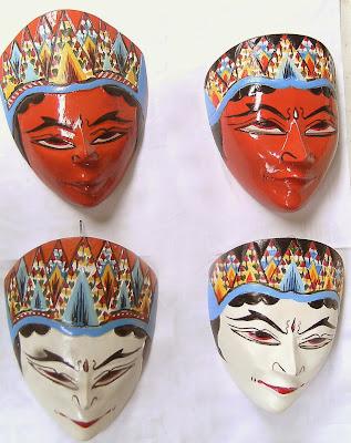 Gambar Topeng Tradisional Wayang Seni Budaya Indonesia Seluruh Provinsi