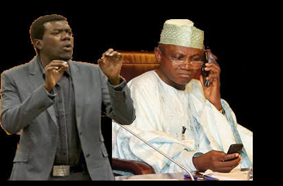 Politics Today: PDP brought Garba Shehu to limelight. PDP is his mother and father ----- Reno Omokri
