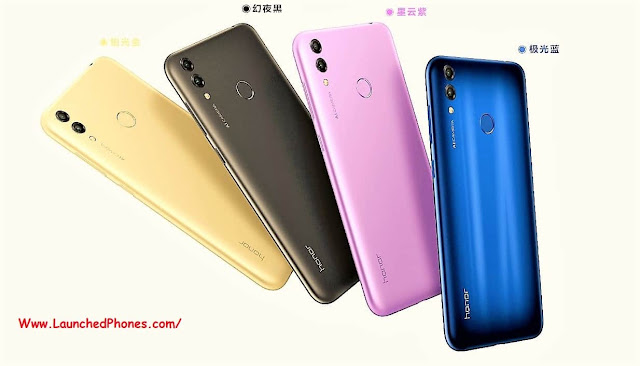 this scream upwardly was launched inwards Red People's Republic of China in conclusion calendar month Huawei Honor 8c launched inwards Republic of Republic of India on Amazon
