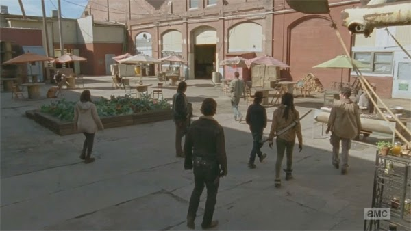 "barbacoas en The Walking Dead 4x16 - ""A"""