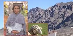 Βαλεντίνα Φλόρες. Φωτογραφία του 2001. Μια συνηθισμένη γυναικά στην Βολιβία που είχε πρόβατα και Λάμα συνάντησε μια οντότητα άγνωστης προ...