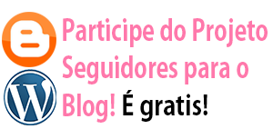 Banner do Projeto seguidores para o blog