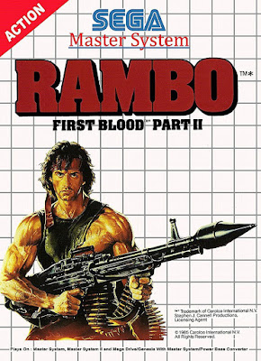 Review - Rambo: First Blood Part II - Master System