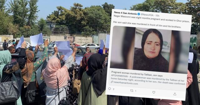 Jubir Taliban Bantah Tuduhan Anggotanya Tembak Mati Polwan yang Sedang Hamil 8 Bulan