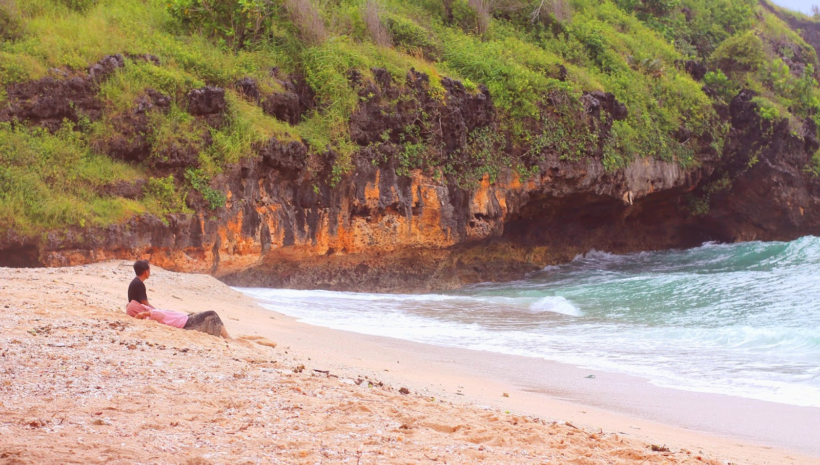 Watu Karung Beach Pacitan Indonesia